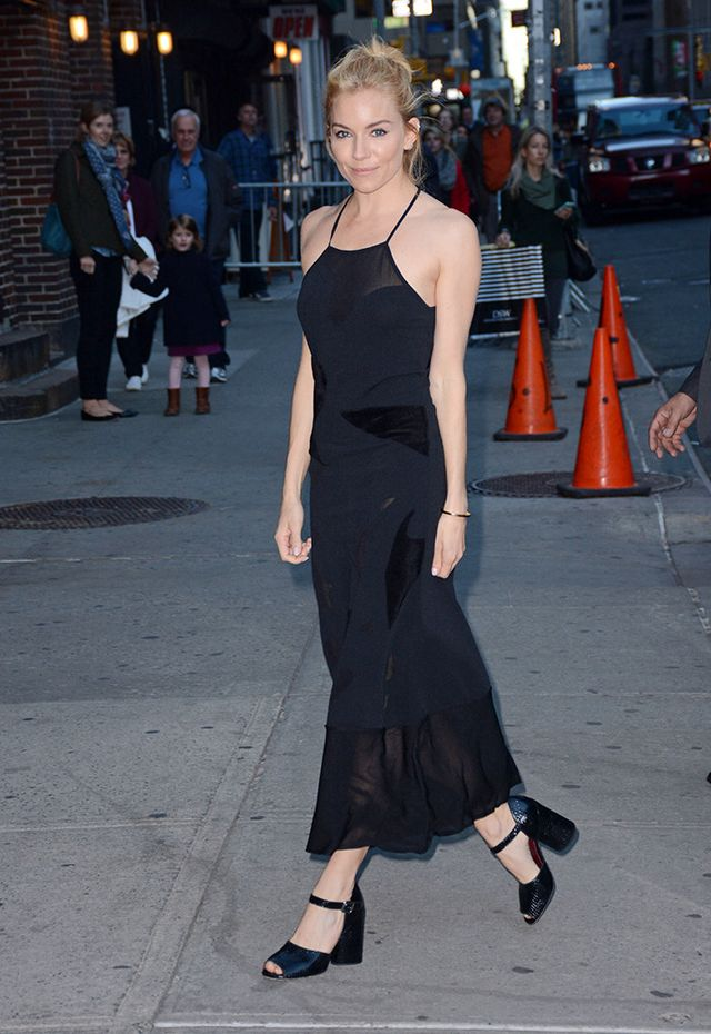 The slip dress reigned supreme last year—and it isn't going anywhere this season either. If you live somewhere colder, pair it with a furry coat or leather jacket.
