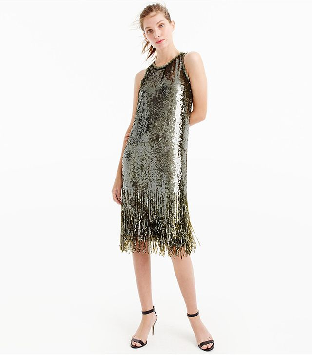 J.Crew Collection Sequin Dress
