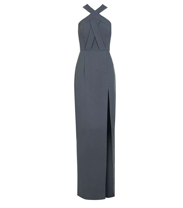 Topshop Cross-Front Maxi Dress