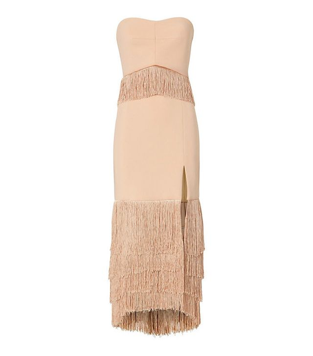 Jonathan Simkhai Fringe Dress