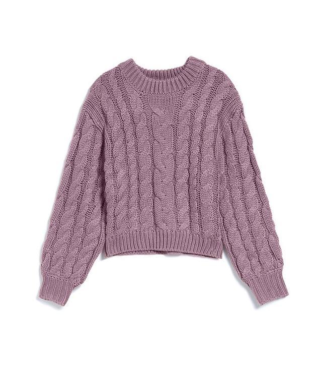 Braid Crop Sweater Callahan