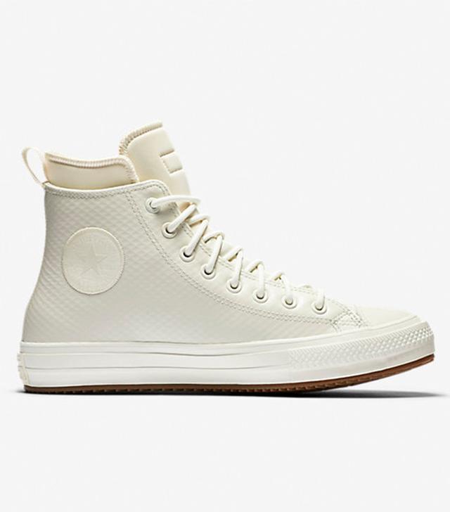 Converse Chuck II Mesh Backed Leather Sneaker