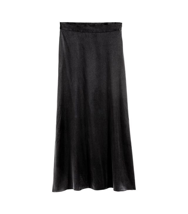 H&M Silk Skirt