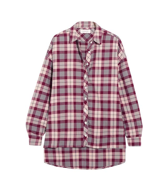 The Great The Big Checked Cotton Shirt