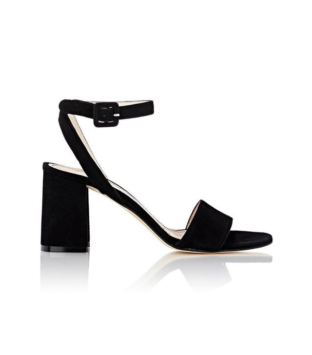 Barneys New York Crisscross Ankle-Strap Sandals