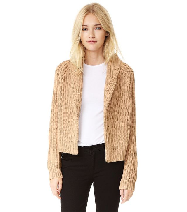 Vince Crop Cardigan Sweater