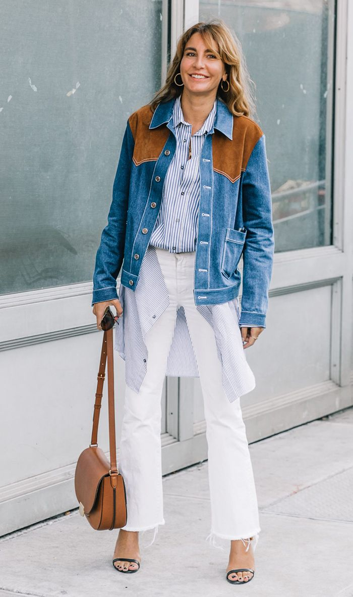 11 Ways You Should Be Wearing Jeans to Work | Who What Wear
