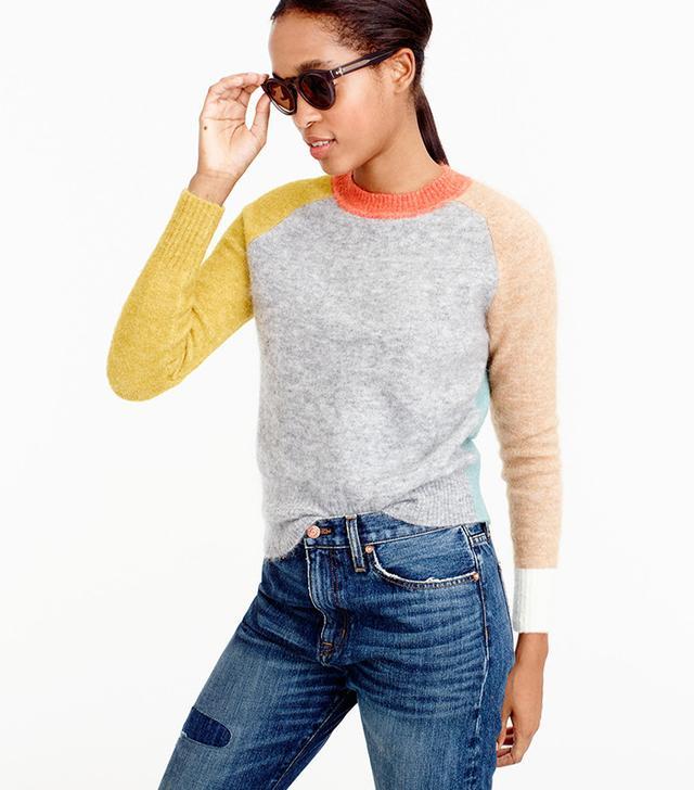 J.Crew Colorblock Sweater