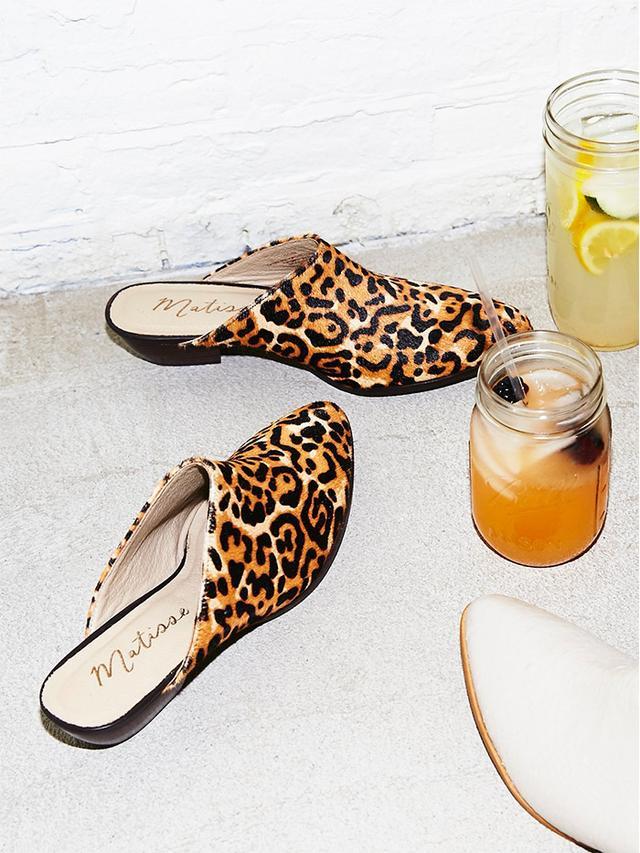 Matisse Leopard Lita Mules
