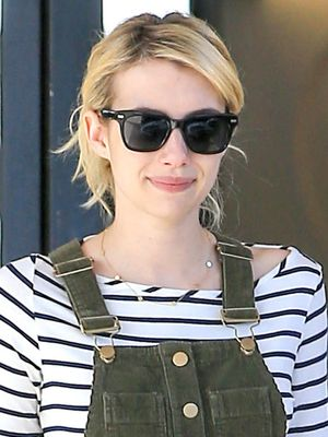 Emma Roberts Wears an Unexpected Combination That Actually Works