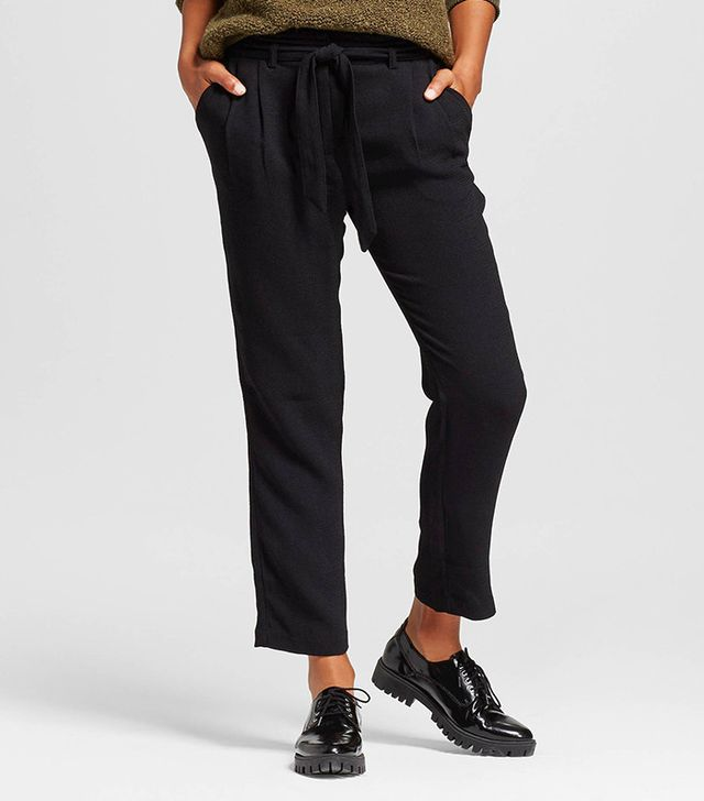 Who What Wear Tie-Waist Pant