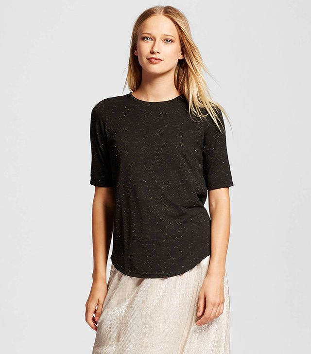Who What Wear Elbow Sleeve Tee