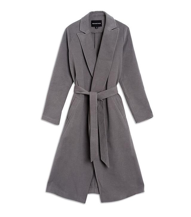 Who What Wear Great Wrap Coat