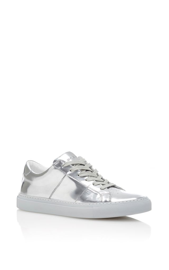 Greats x M'O The Royale Sneaker in Silver