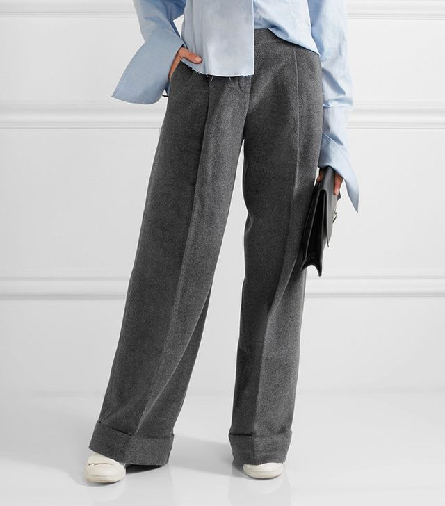 Topshop Unique Fenton Wide-Leg Pants