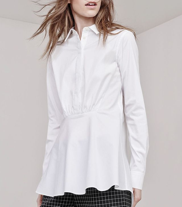 Thakoon Gathered Front Shirt