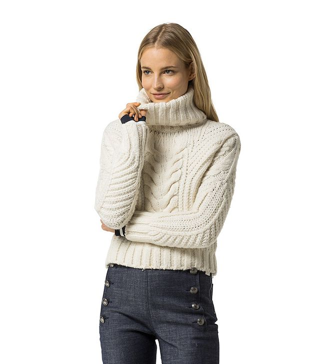 Tommy Hilfiger x Gigi Hadid Roll Neck Sweater