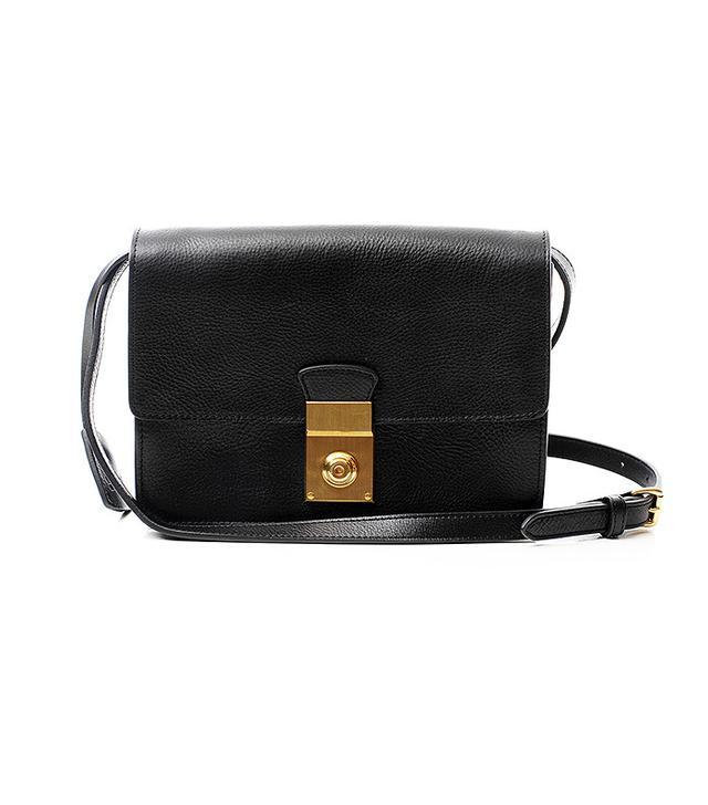 Lotuff Leather Locking Cross Body Bag