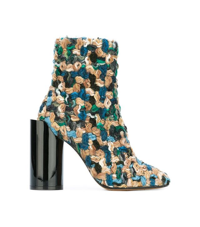Maison Margiela Extended Heel Ankle Boots