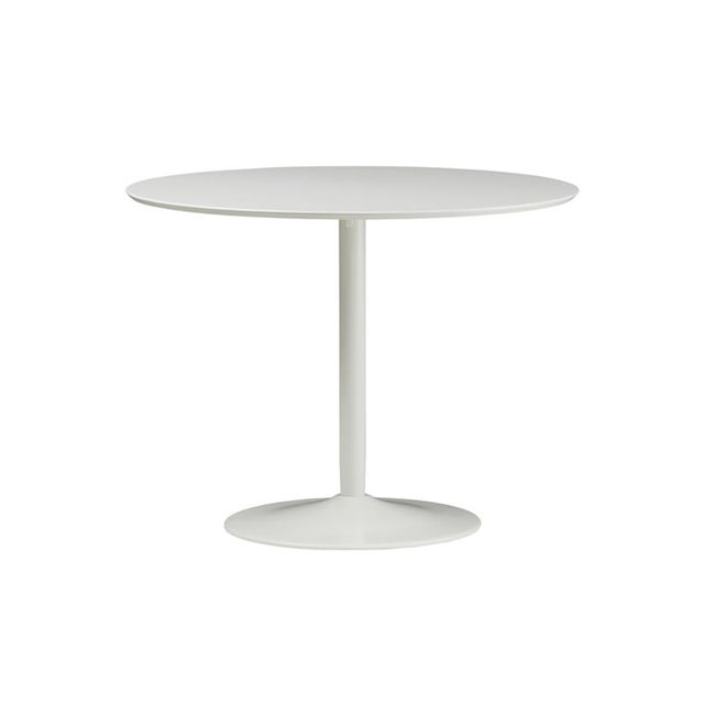 CB2 Odessey White Dining Table