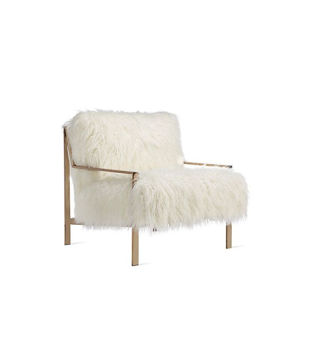 Z Gallerie Axel Fur Accent Chair