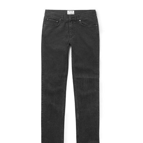 Ace Skinny-Fit Washed-Denim Jeans