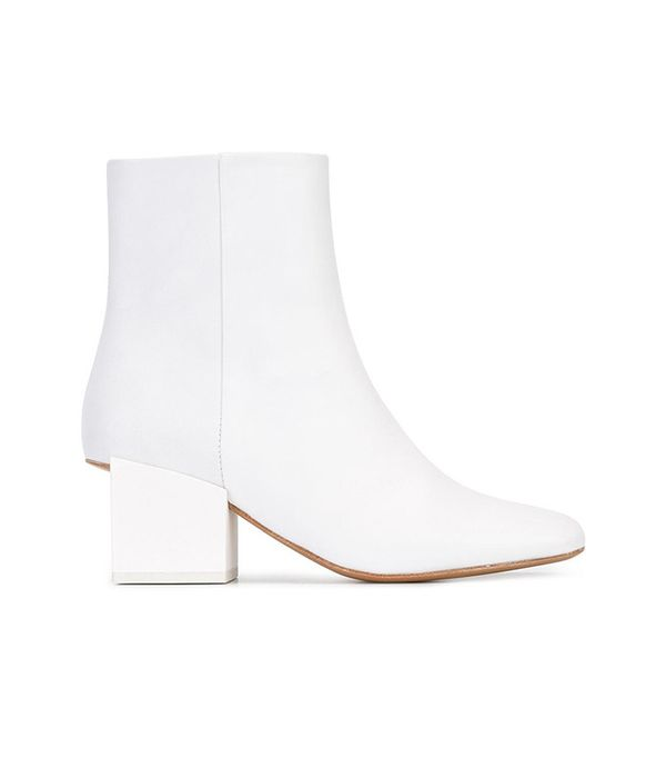 Jacquemus Geometric Heel Ankle Boots