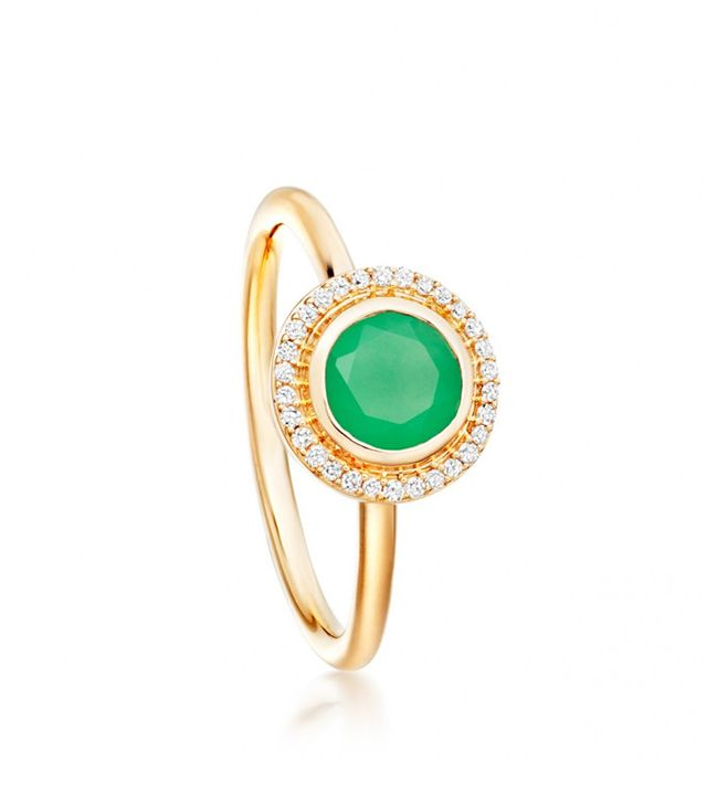 Astley Clarke Chrysoprase Icon Ring