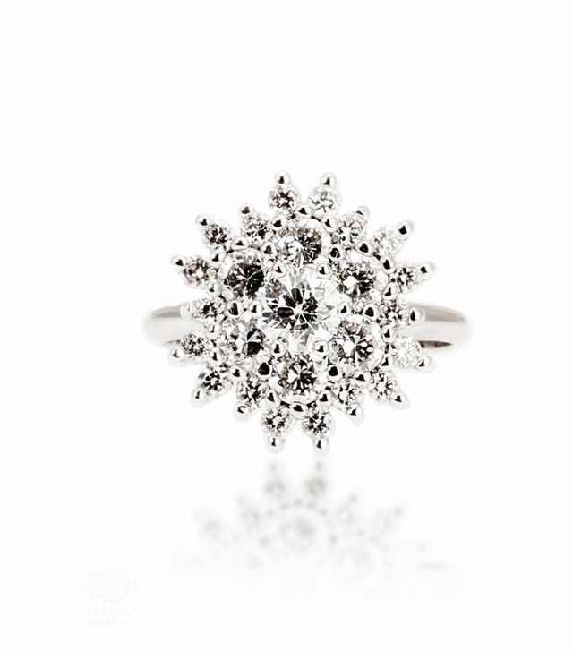 Diana Engagement Ring Vintage