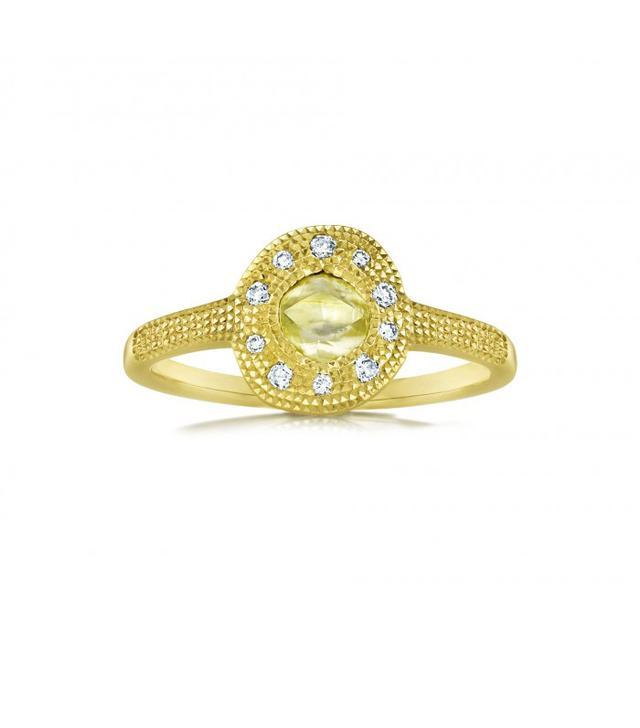 Debeers Talisman Solitaire Diamond Ring
