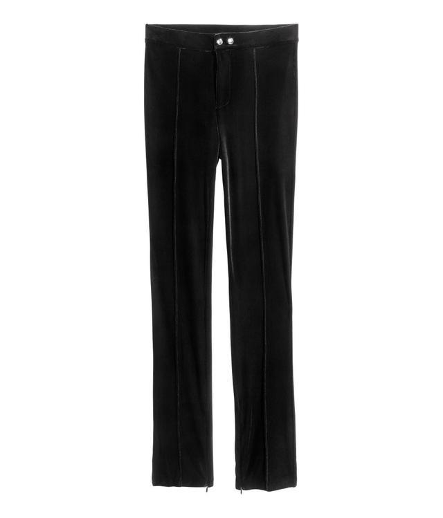 H&M Velvet Pants