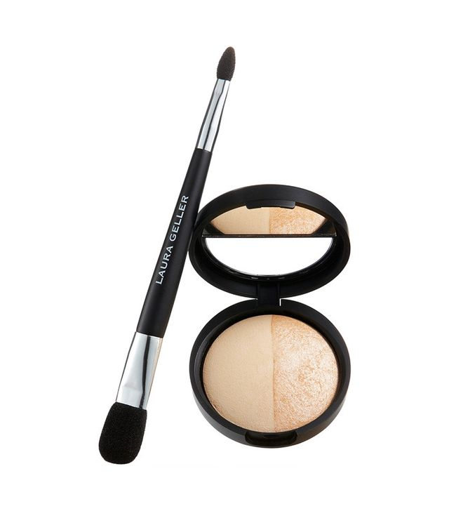 Laura Geller Baked Highlighter Duo With Brush