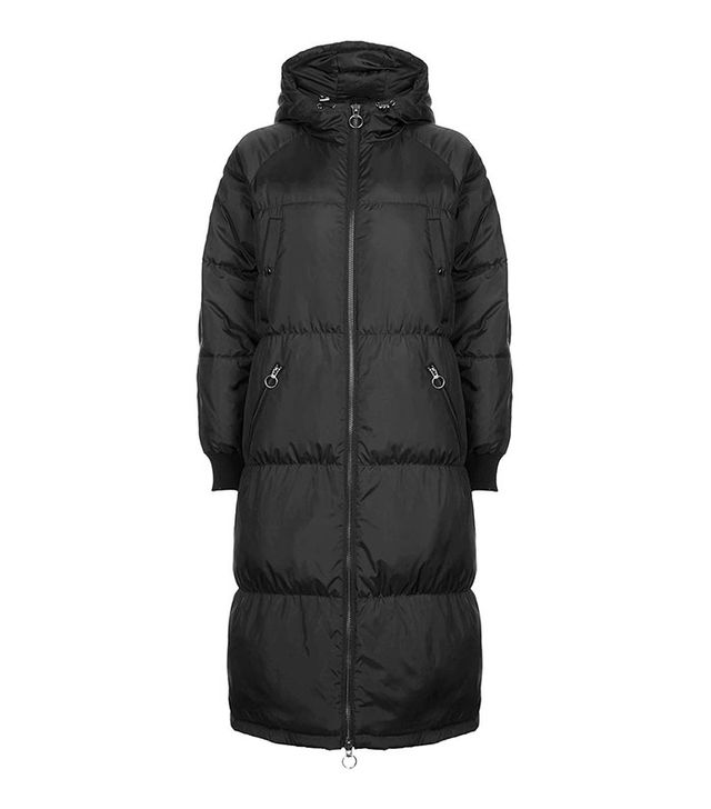 Topshop Longline Puffer Jacket