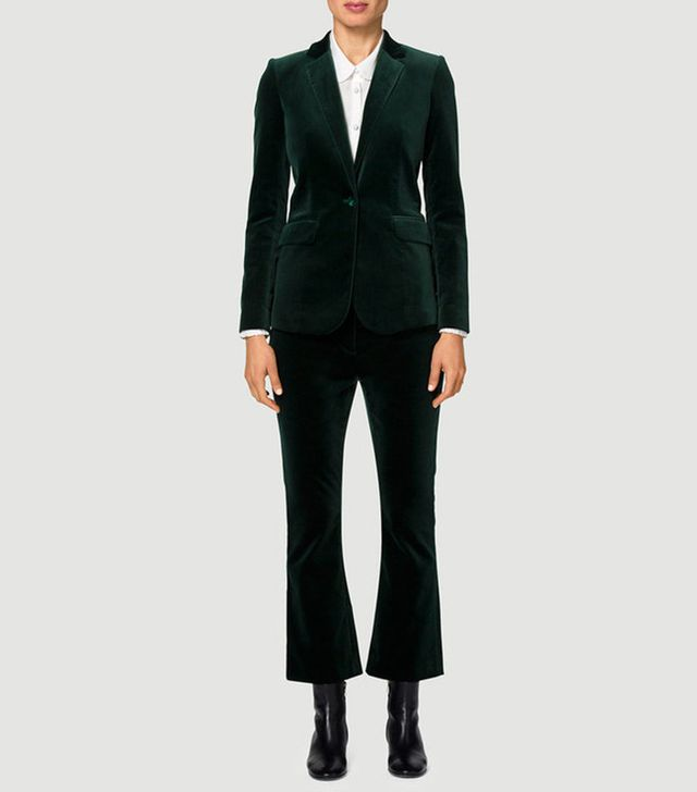 Frame Velvet Mod Blazer and Trousers