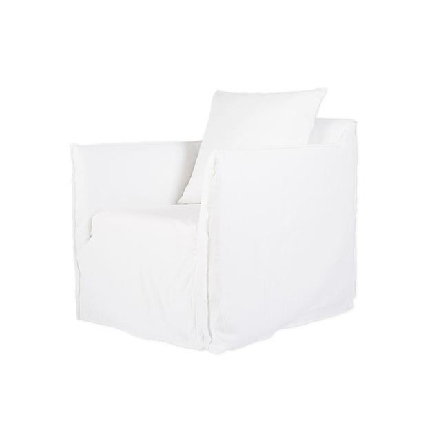 Urban Couture Bronte White Armchair