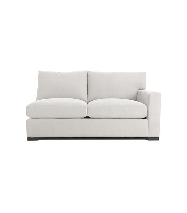 Crate & Barrel Axis II Right Arm Apartment Sofa