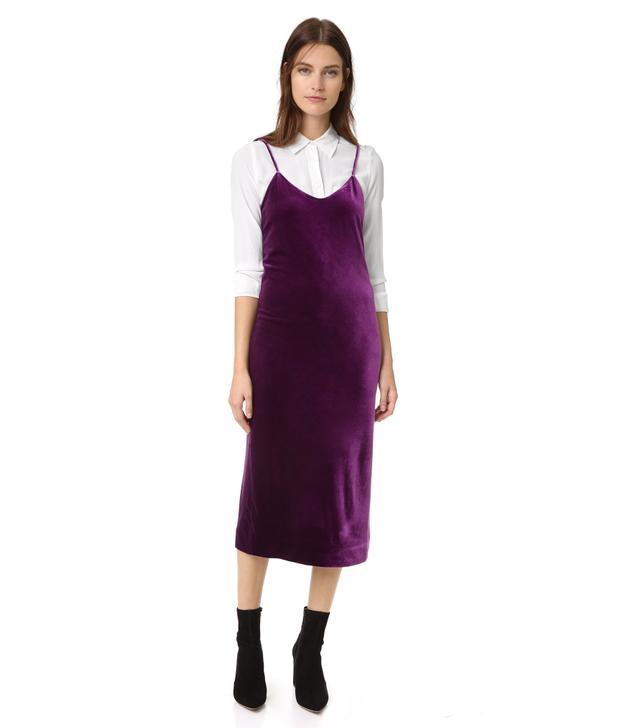 Rebecca Minkoff Yoshi Velvet Slip Dress