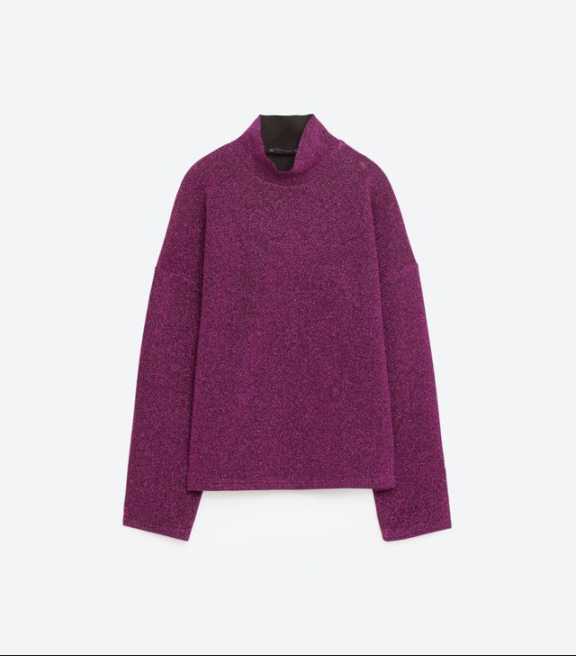 Zara Shiny Sweatshirt