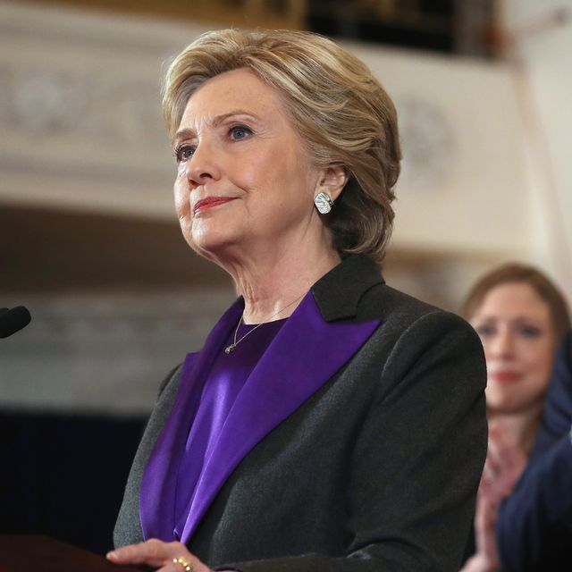 Did You Catch the Symbolism of Hillary Clinton's Purple Suit?