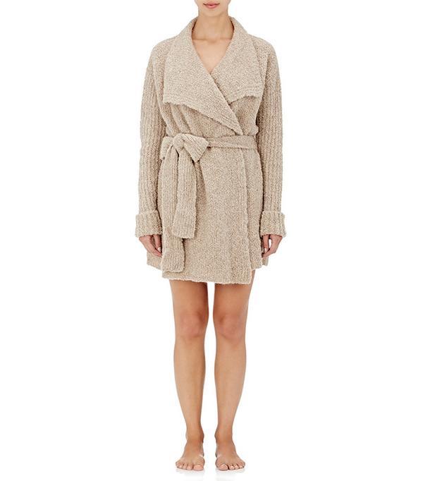 Skin Alpaca-Blend Wrap Sweater