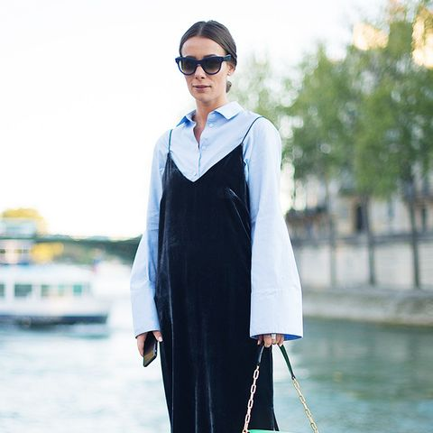 The French-Girl Way to Wear Velvet