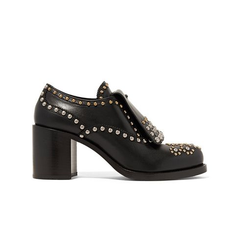 Studded Leather Brogues