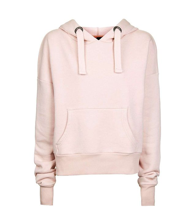 Topshop Boutique Cropped Hoodie