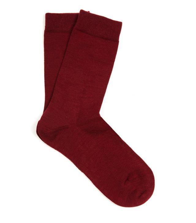 Falke Soft Wool and Cotton-Blend Socks