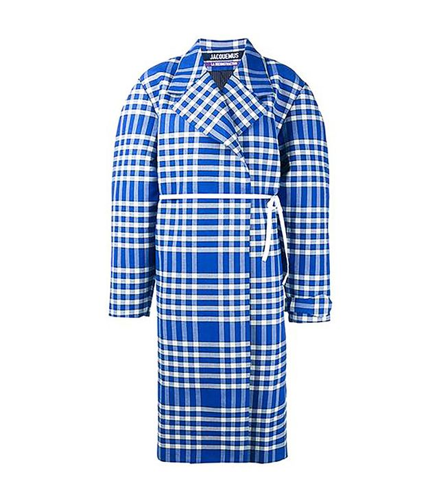 Jacquemus Oversized Check Coat