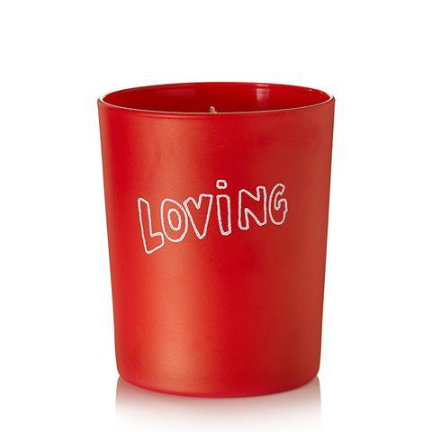 Loving Tuberose and Sandalwood Scented Candle
