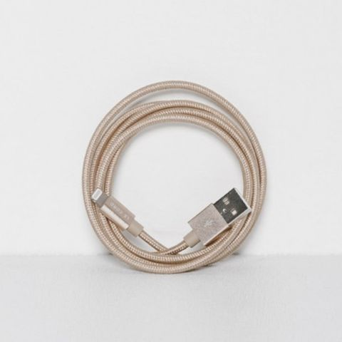 Solid Gold iPhone Cable