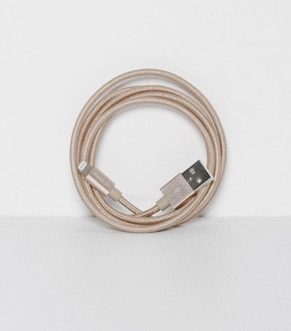 Le Cord Solid Gold iPhone Cable