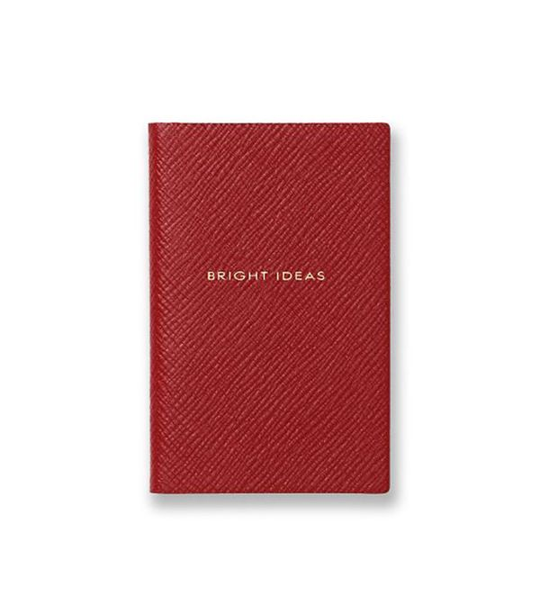 Smythson Panama Collection Bright Ideas Wafer Notebook