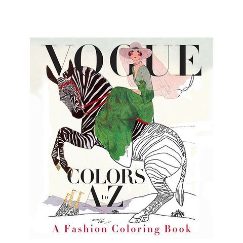 Colors A to Z Adult Coloring Book : A Fashion Coloring Book